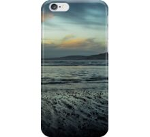 Aberafan Beach - Winter Blue iPhone Case/Skin
