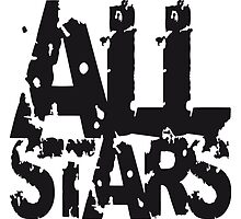Allstars stamp print design by Style-O-Mat