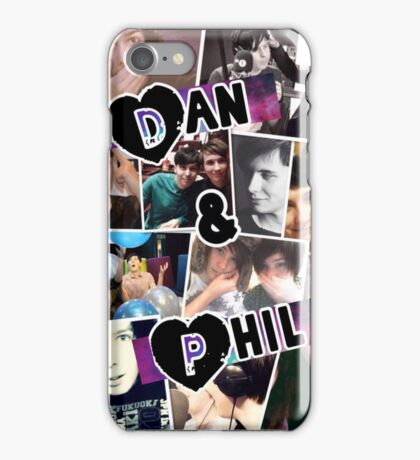 Dan and Phil Collage iPhone Case/Skin