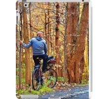 Autumn ride iPad Case/Skin