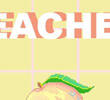 Peaches Aesthetic Sticker