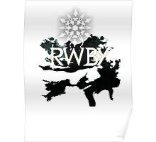 RWBY white snow Poster