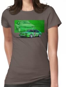 Dick Johnson Mustang Womens Fitted T-Shirt