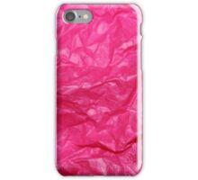 Hot Pink Tissue iPhone Case/Skin
