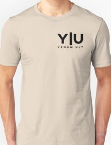 Yenum Ult Black Alternative Unisex T-Shirt