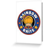 Rainbow Brite Greeting Card