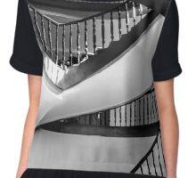 Winding staircase Chiffon Top