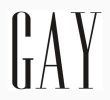Gay Gap Logo One Piece - Short Sleeve
