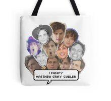I fancy Matthew Gray Gubler Tote Bag