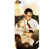 Me, Dad & Daffodils iPhone Case/Skin