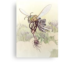 Cyborg Bee Canvas Print