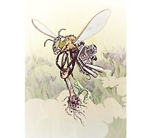 Cyborg Bee Photographic Print