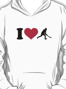 I love Field hockey player T-Shirt