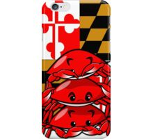 Three Wise Crabs iPhone Case/Skin