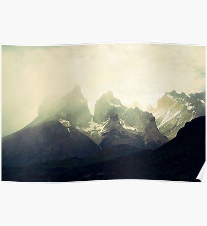 Torres del Paine Poster