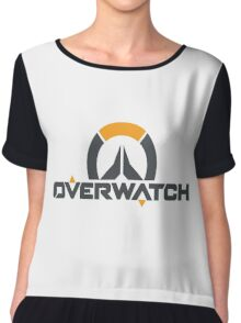 OverWatch- Logo Chiffon Top