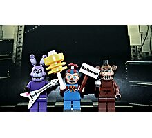 Lego Five Nights at Freddy's Photographic Print