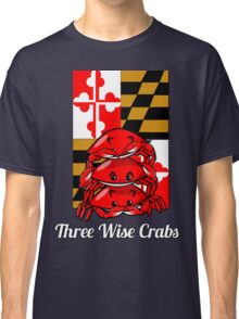 Three Wise Crabs Classic T-Shirt