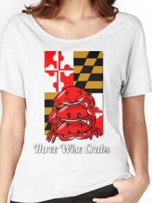 Three Wise Crabs Women's Relaxed Fit T-Shirt