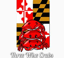 Three Wise Crabs Unisex T-Shirt