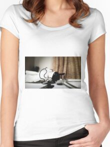 Chinamen Doll Women's Fitted Scoop T-Shirt