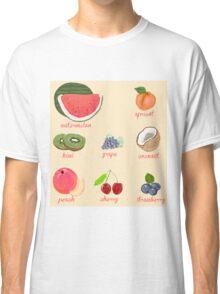 fruit background Classic T-Shirt