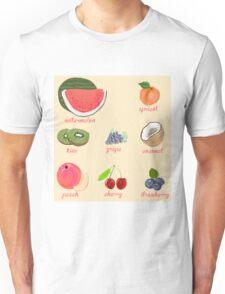fruit background Unisex T-Shirt