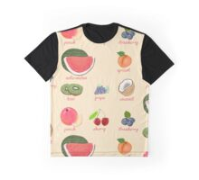 fruit background Graphic T-Shirt