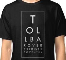 Tollbar Overbridges Coventry (on dark) Classic T-Shirt