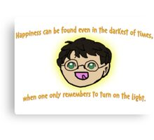 Harry Potter Happiness! Canvas Print
