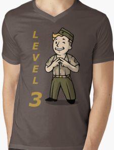 Terminal Vault Boy E3 Mens V-Neck T-Shirt