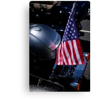 Forever Red White Blue Canvas Print