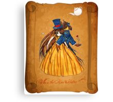 Wanted Beauty and the Beast Canvas Print