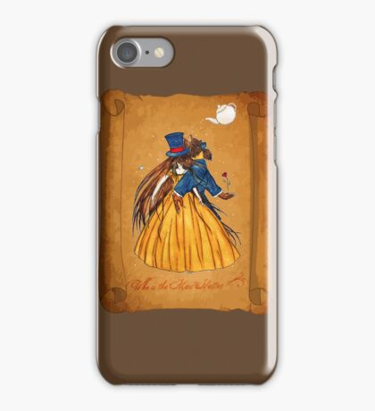 Wanted Beauty and the Beast iPhone Case/Skin