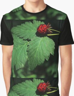 #1318  Raspberry Graphic T-Shirt