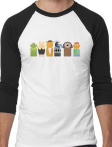 Play The Music, Light the Lights Men's Baseball ¾ T-Shirt