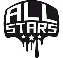 Allstars graffiti stamp by Style-O-Mat