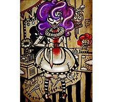 Twisted the Clown Photographic Print