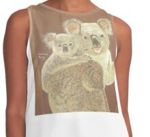 Koalas - Mama Bear & Baby Bear Contrast Tank