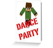 Dance Party! Greeting Card