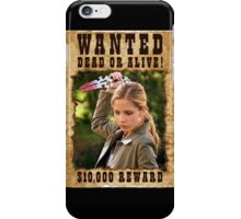 Buffy the Vampire Slayer Wanted iPhone Case/Skin