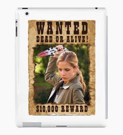Buffy the Vampire Slayer Wanted iPad Case/Skin