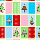 Christmas Squares by Hena Tayeb