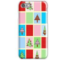Christmas Squares iPhone Case/Skin