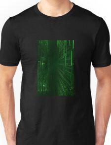 Green Lights - Matrix effect Unisex T-Shirt
