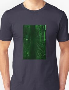 Green Lights - Matrix effect Unisex T-Shirt