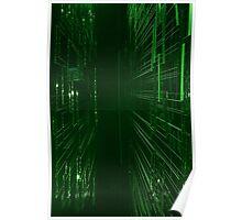 Green Lights - Matrix effect Poster