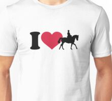 I love riding horses Unisex T-Shirt