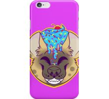 Cupcake Spotted Hyena iPhone Case/Skin
