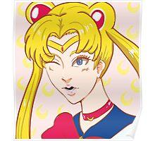 Sailor Moon Wink Poster